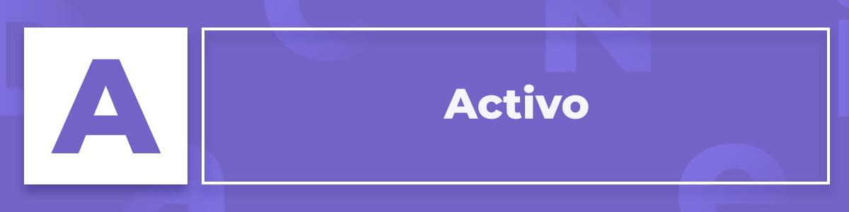 Qué es un Activo