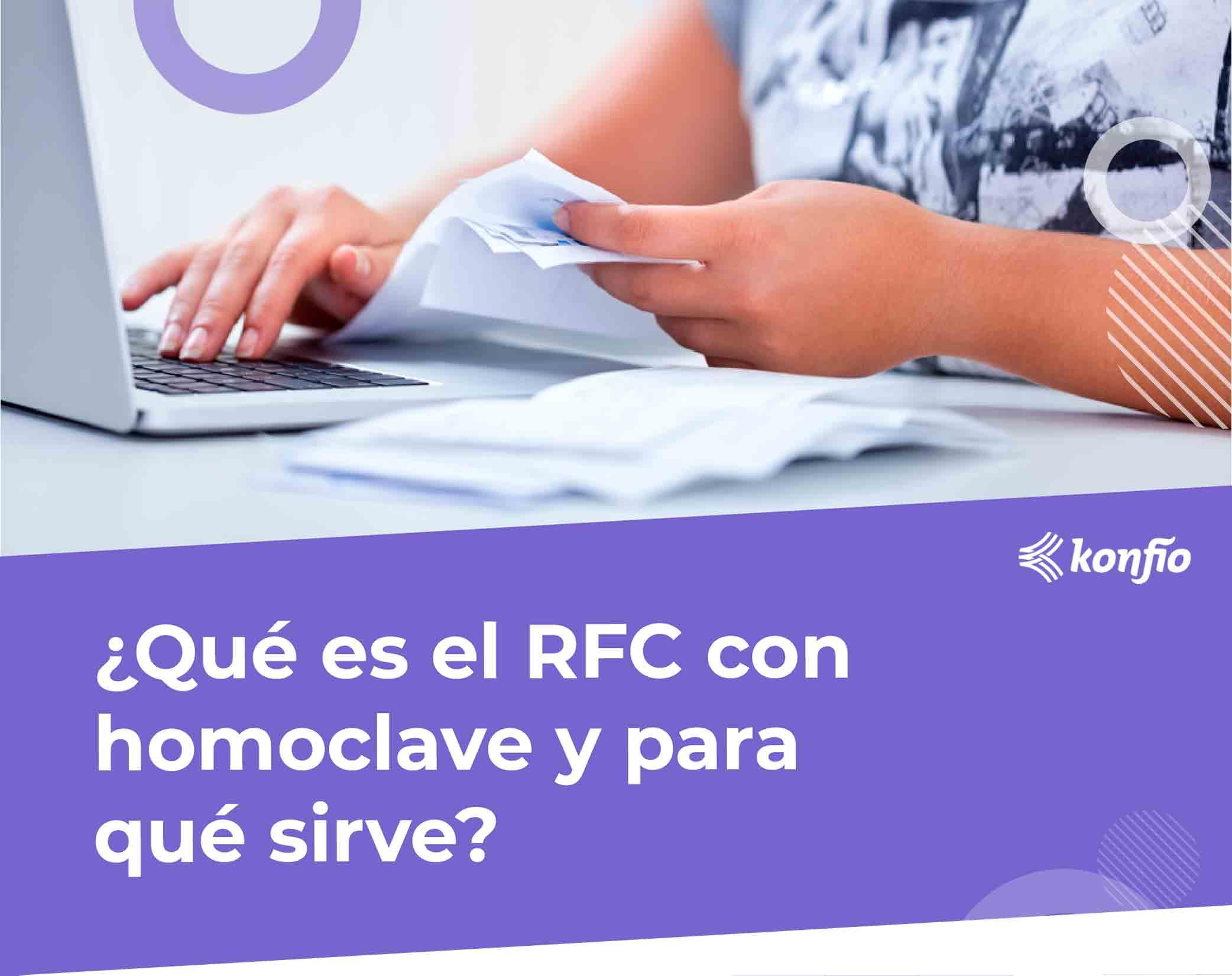 ¿Qué es el RFC con homoclave?