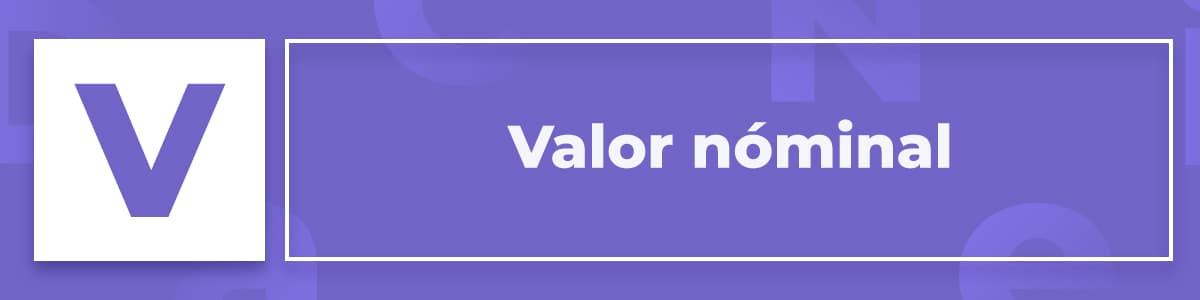 Valor Nóminal