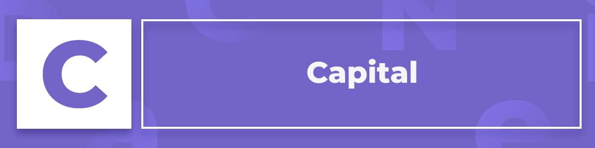 Qué es el capital