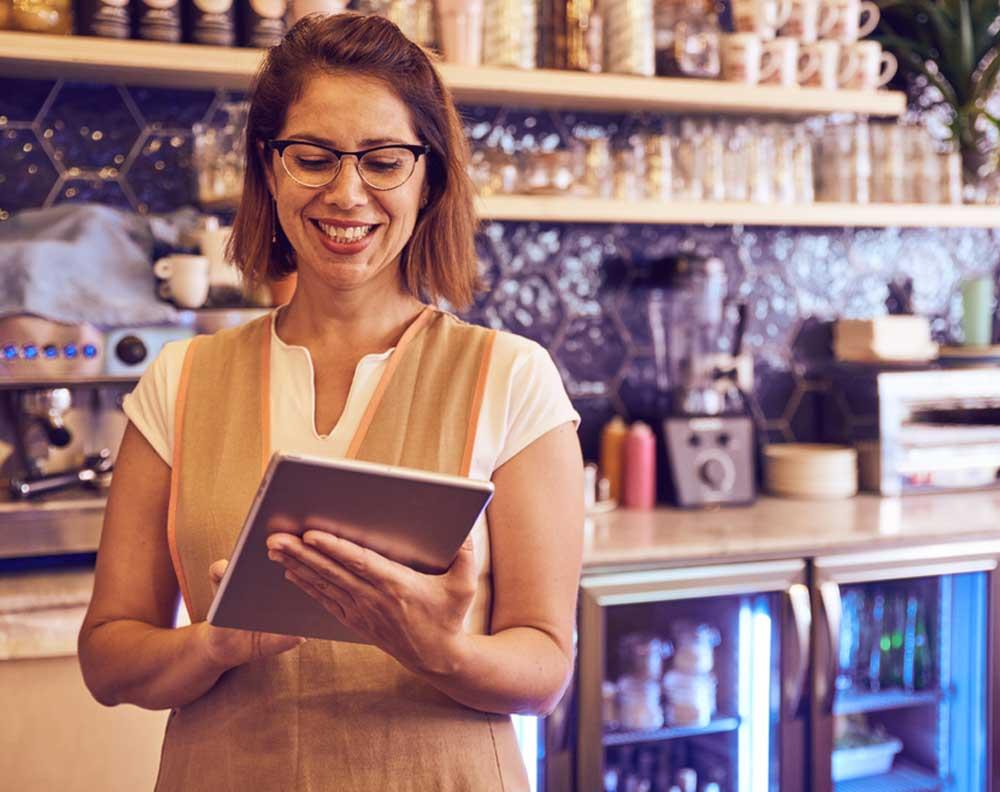 Solicitar un crédito para mantener un negocio