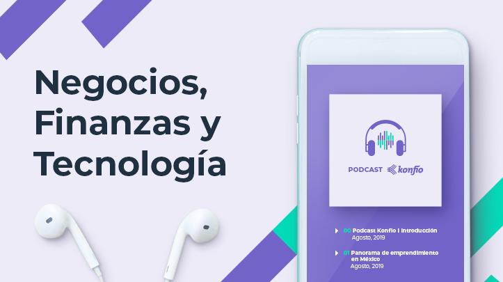 Podcast negocios, finanzas y tecnología