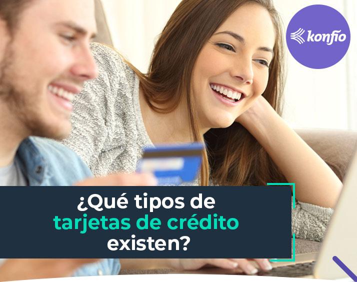 ¿Qué tipos de tarjetas de crédito existen?
